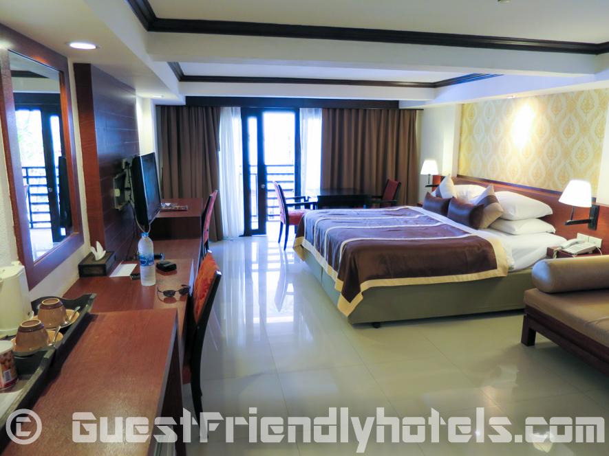 38 m2 Deluxe Balcony Room in Patong Bay Garden Resort