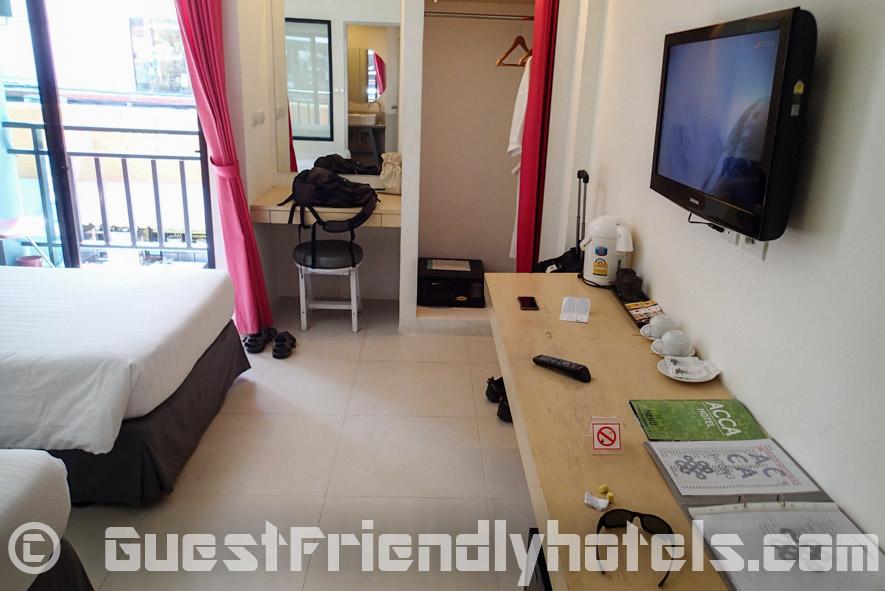 Superior room facilities at Acca Patong