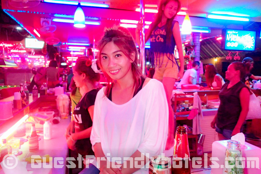 night out in Pattaya Soi 1 beer bars